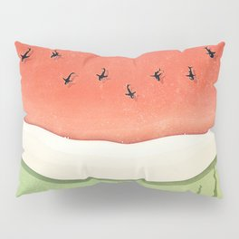 Fleshy Fruit (Watermelon) Pillow Sham