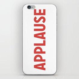 Applause iPhone Skin