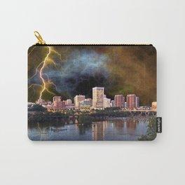 Stormy Richmond Skyline Carry-All Pouch