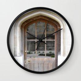 Doors Oxford 7 Wall Clock