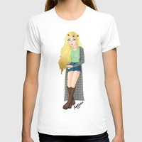 tumblr T-shirts featuring Tumblr Girl by Creative_little_artist