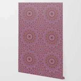 Colorful Spiritual Garden Mandala Wallpaper