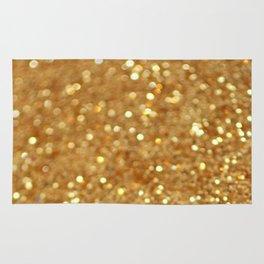 Glittered Gold Rug