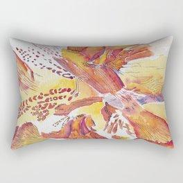 Flower Detail Series Rectangular Pillow