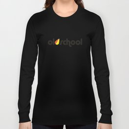OLDSCHOOL v2 HQvector Long Sleeve T-shirt