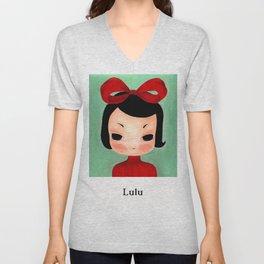 Lulu Unisex V-Neck