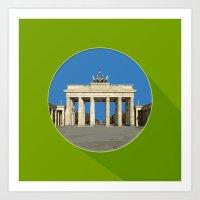 berlin Art Prints featuring Berlin by Matthias Hennig
