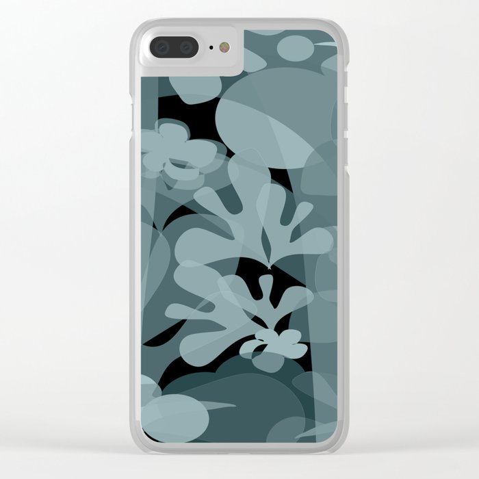 Rain Forest Clear iPhone Case