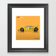 McLaren F1 GTR #06R - 1995 Le Mans 3rd Place Finisher Framed Art Print