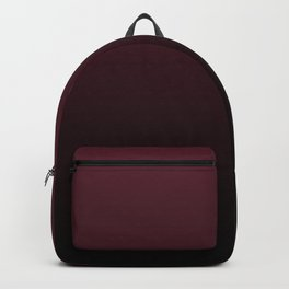 Burgundy Wine Ombre Gradient Backpack