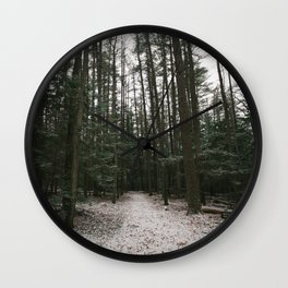 Windy Walk Wall Clock
