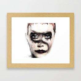 STRASSE Half Past Animal Album Framed Art Print