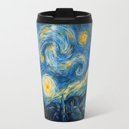 A Starry Night at Hogwarts Travel Mug