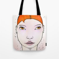 swim Tote Bags featuring Swim by IOSQ