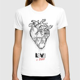 Heart Of Hearts: Outline & Stuff T-shirt