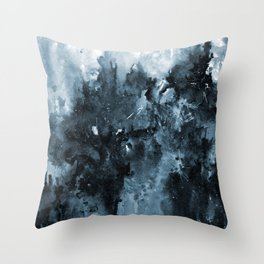 Winter Solstice Abstract Throw Pillow