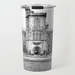 The Castle in Early Spring. Travel Mug