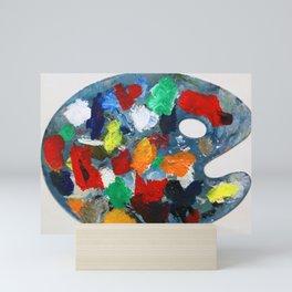 The Artist's Palette Mini Art Print