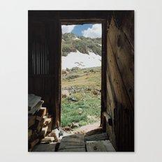 Colorado Mountain Cabin Canvas Print