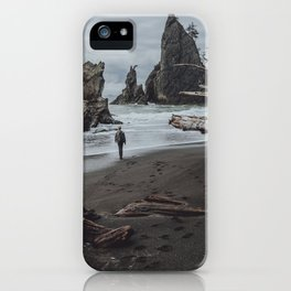 Olympic Coastline iPhone Case
