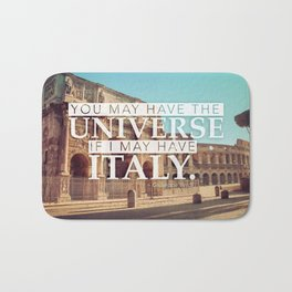 You may have the Universe Bath Mat