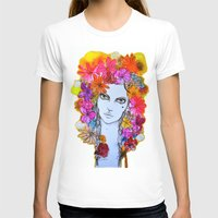 florence T-shirts featuring Florence by D.U.R.A