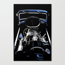 1932 Ford Hot Rod - Motor Canvas Print