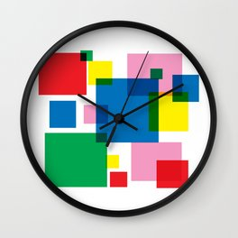 New Year 18 Wall Clock