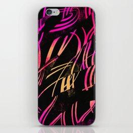 Black Sunrise iPhone Skin