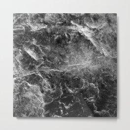 Enigmatic Black Marble #1 #decor #art #society6 Metal Print