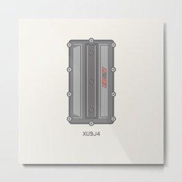 Peugeot XU9J4 Rocker Cover Metal Print