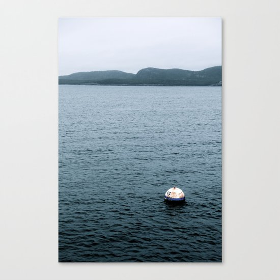 Bouy's View - In The Gulf of Maine Canvas Print