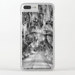 Rural Road 1 Clear iPhone Case
