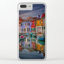 Burano Venice Italy Clear iPhone Case
