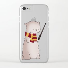 Harry Pawter Clear iPhone Case