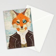Foxy le dandy Stationery Cards