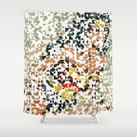 wonder Shower Curtains featuring Wonder by Robotic Ewe