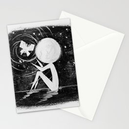 Stickmens Series - Light Stationery Cards