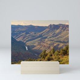 The Salt River Canyon north of Globe AZ Mini Art Print