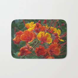 Red Bird of Paradise #1 Bath Mat