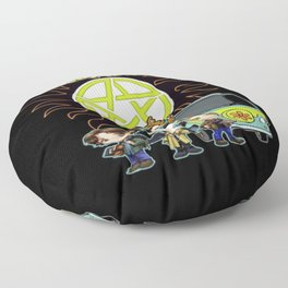 Scoobynatural And The Crew Floor Pillow