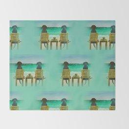Beach Bums Throw Blanket