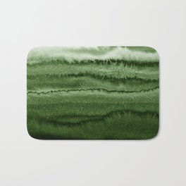 WITHIN THE TIDES FOREST GREEN by Monika Strigel Bath Mat