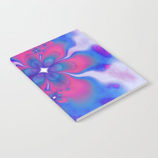 Fleurs Fête Fractal Notebook