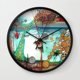 Nature/Nurture Wall Clock