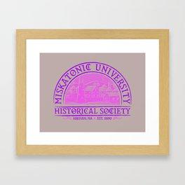 Miskatonic Historical Society Framed Art Print