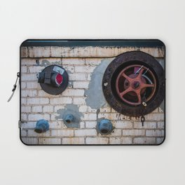 Shapes of Things, Street Photography Brick Firemen Accessories Laptop Sleeve