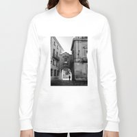 madrid Long Sleeve T-shirts featuring Madrid Walkings by PabloEgM