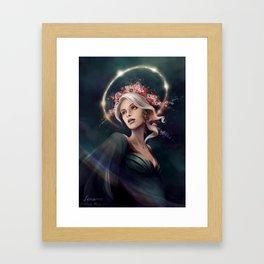 Eos, The Dawn Star Framed Art Print