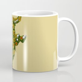 Elephant Sunflower Coffee Mug